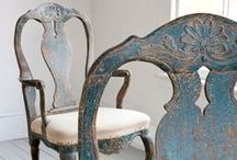 Chair Decor / Inspiring and stylish reasons to put your feet up. Sit back and enjoy...