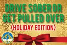 Holidays- Drive Sober or Get Pulled Over /
