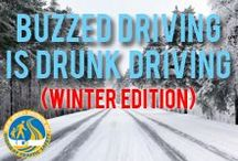 Winter - Buzzed Driving is Drunk Driving /   / by NJ Division of Highway Traffic Safety
