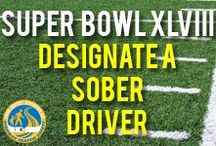 Super Bowl XLVIII - Designate a Sober Driver / The Super Bowl is coming to New Jersey! Have a great time, and if you'll be drinking- make sure to designate a sober driver! / by NJ Division of Highway Traffic Safety