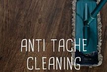 Anti tache / Cleaning / Truc anti tache pour tout nettoyer.  Clean everything in the house.