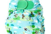 Cloth Diapers - Diapers / Cloth diapers mean fewer rashes, earlier potty-learning, super-cute bums, and a savings of about $2000 as compared with disposables... plus a healthier, greener future for our children.
