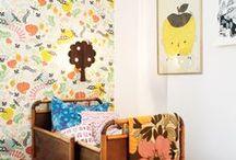 kids room in yellow / habitaciones infantiles con amarillos