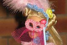 mes réas Barbie-chapeaux - sacs- accessoires / accessoires pour accompagner les tenues de barbie
