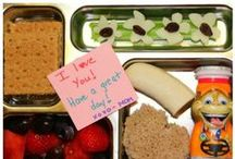 School Lunch / School lunches and Snack Ideas