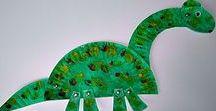 Kids' craft: Dinosaurs