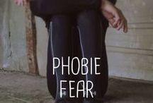 Peur / Phobia / Tous les trucs sur la peur et les phobie.  Fear and phobia