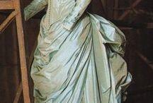 šaty 19. století / historické šaty