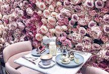 Girls love flowers