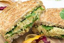 Sandwich & Wraps by The Flexitarian / Vegetarian and Vegan Sandwich & Wraps by The Flexitarian