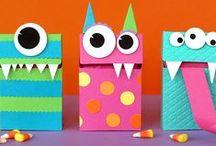 Kids craft: Monsters