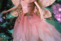 Barbie Ange-Fée / tenues de barbie, en tricot, crochet ou tissus, anges , fées