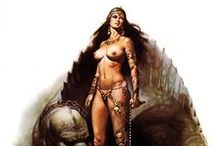 Boris Vallejo - Fantasy Gallery / Fantasy Art - The collection of original fantasy paintings and drawings available.