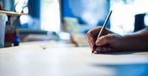 handschrift ★ handlettering / Das Schreiben mit der Hand liegt wieder voll im Trend. Hand-Lettering ist nur ein Schlagwort, das zeigt, dass wieder mit Leidenschaf geschrieben wird. Das Schreiben mit Füller, Bleistift, Kugelschreiber von Karten, Notizbüchern, Tagebüchern, etc. ist Ausdruck von Kreativität und Persönlichkeit.