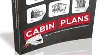 Cabin Plans – 9 Easy to Follow Small Wooden House Designs - book / 9 Comprehensive Cabin Building Guides - Huge DIY Manual Inside the printed book you will find complete plans of these 9 unique Pin-Up House designs: Ann Cabin Plans Bettie Cabin Plans Carroll Tiny House Plans Virginia Cabin Plans Marion Cabin Plans Sally Cabin Plans Marilyn Cabin Plans Susan Small House Plans Marlene Small House Plans