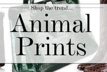 Animal Prints / Adorn your outfits with croc, python and lizard printed accessories and indulge your wild side this season, as animal print prowls back into the style spotlight. #animalprints #shoes #bags