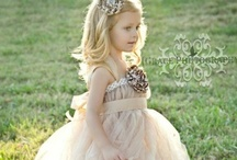 Little Flower Girls  / Flower girls, wedding dresses, kids, wedding details