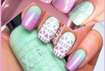 Nailart :D / This board is about nails. Bye.  / by Mellie Luo