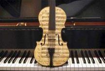 Πιάνο & Βιολί ( Piano & Violin) / by Βιβή (Vivi) Βάγγαλη (Vangali)