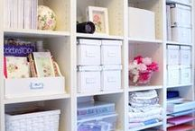 cottage storage / storage ideas that make life easier - and inspiration to hand!