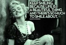 Marilyn Monroe  / Quotes and more -  Marilyn Monroe - June 1, 1926 – August 5, 1962