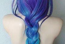 Wild hair colors