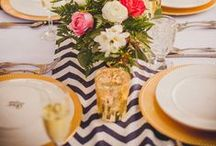 Lovely Table Settings / Ideas and inspiration for your table settings!