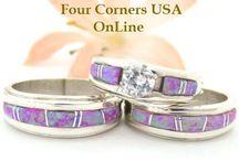 Native wedding rings