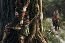 Fantasy Fiction ^w^ / I want to write a novel! :D
