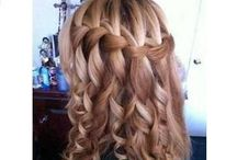 Hair ideas / For prom, wedding, and etc.