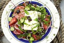 Greek Food / Greek food is tasty