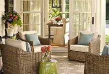 Dream House - Outside / Garden, porch, terrace, balcony