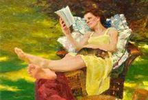 She reads II.
