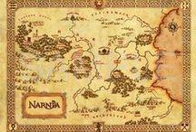 Mapas de lugares imaginarios en la literatura infantil y juvenil.