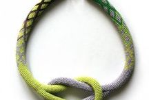 bead crochet patterns and beautiful necklaces