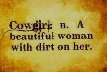 I guess it's just the Cowgirl in me ♥♥