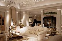 Interior Design / Dream homes and ideas for Paris apartment. / by Alanah Lockwood