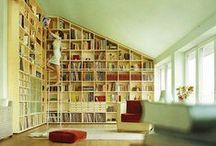 Dream Bookcases  / Someday, I want SO many bookcases in my house. So, this board is designed for all those cool bookcases I see on here. :)