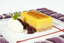 Desserts / A selection of Desserts from Druids Brasserie