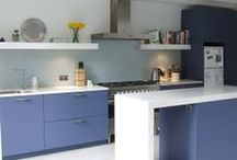 Kitchens Of Colour / A new kitchen doesn't have to be white - we can match to the RAL colour chart!