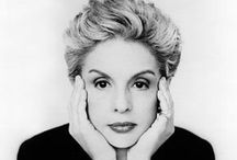 """Carolina Herrera / """"Perfection does not exist - only God is perfect."""""""