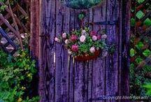 Garden Fences, Gates and Trellises
