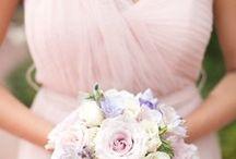 Bridesmaid Bouquets - Spring / @FlourishMcr