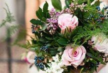 Bridal Bouquets - Spring / @FlourishMcr