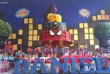 Festa Infantil / Inspirações para festa infantil! Aniversários com diversos temas, para meninas e meninos. Bolo, docinhos, lembrancinhas...