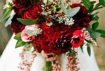 Bridal Bouquets - Winter / @FlourishMcr