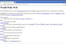 Le design de sites web depuis le tout premier / Le Design de sites web à travers le temps