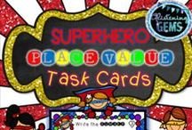 TASK CARD FUN / Colloborative board for teachers to pin fun and engaging task cards for all grades!