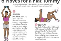 Workouts and tips ♡ / Tips how to be fit and workouts