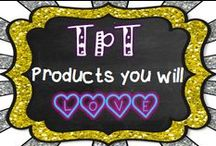 TpT Products You Will Love / Welcome to TpT Products You Will Love!  Here you can pin fun and engaging products and teaching ideas.